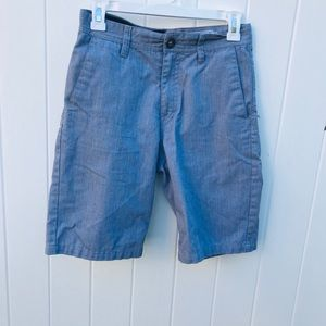 Volcom True To This Shorts Grey - Flat Front Chino